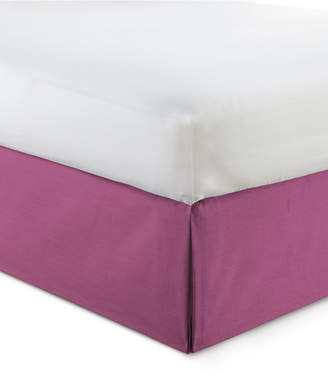 "Colcha Linens Cambric Berry Bedskirt 18"" Drop California King Bedding"