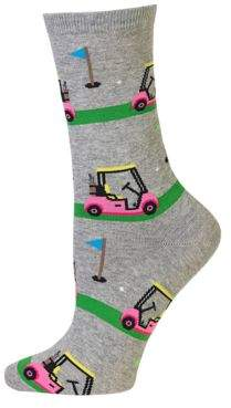 Hot Sox Golf Carts Crew Socks
