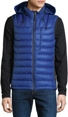 Body Glove Men's Soft-Touch Puffer Down Vest