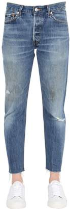 RE/DONE Re Done Boyfriend Cropped Vintage Denim Jeans