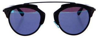 Christian Dior So Real Reflective Sunglasses