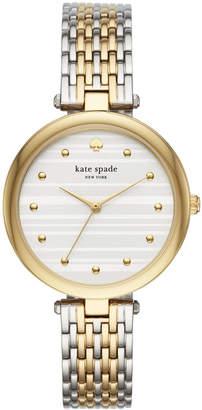 Kate Spade Women's Varick Two-Tone Stainless Steel Bracelet Watch 36mm