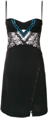 La Perla lace-panelled dress