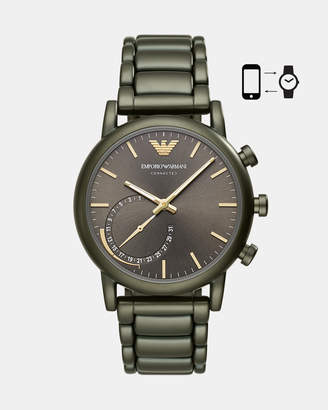 Emporio Armani Green Hybrid Smartwatch