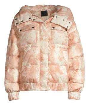 ATM Anthony Thomas Melillo Tie-Dye Puffer Jacket