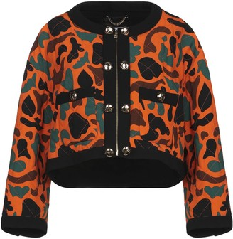 84f0902b07a Moschino Orange Women's Jackets - ShopStyle