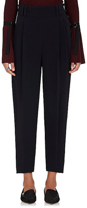 3.1 Phillip Lim Women's Pleated Suiting Crepe Trousers $450 thestylecure.com
