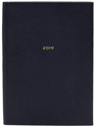 Smythson Soho 2019 grained-leather diary