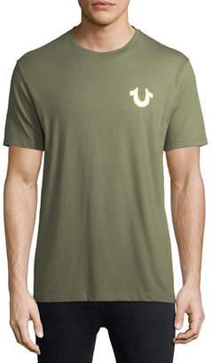 True Religion Metallic Buddha T-Shirt