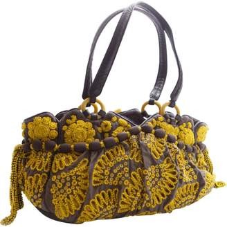 Jamin Puech Yellow Leather Handbag