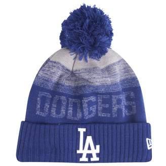 8ad4abc9962 New Era MLB Sport Knit Bobble Beanie - LA Dodgers
