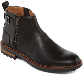 COLLECTION Collection by Michael Strahan Mens Alfie Chelsea Boots Zip