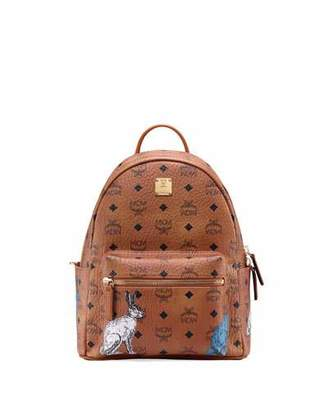 MCM Stark 32 Hide And Seek Rabbit Backpack
