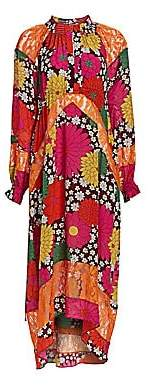 Dodo Bar Or Women's Renee Floral Maxi Shirtdress