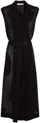 Victoria Beckham Belted Gilet Coat
