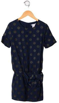 Little Marc Jacobs Girls' Polka Dot Dress