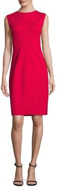 Elie Tahari Marley Sheath Dress $348 thestylecure.com