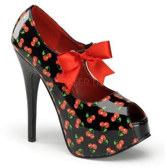 Pleaser USA Women's Teeze-25-3/B Ankle-Strap Sandal