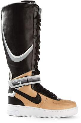 Nike Riccardo Tisci 'Beige Pack Air Force 1' boots