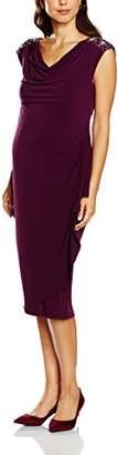 Mama Licious MAMALICIOUS Women's MLDIPSY S/L JERSEY BELOW KNEE DRESS Maternity Dress,(Manufacturer size: Large)