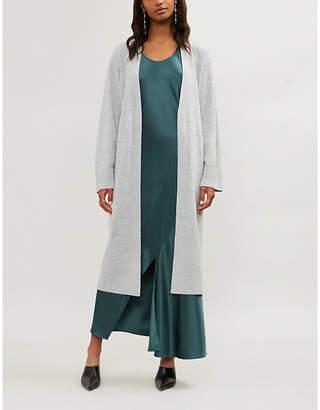 Theory Tie-waist wool-cashmere cardigan
