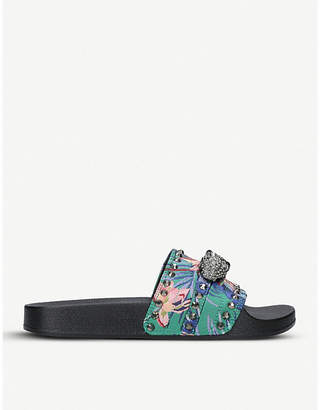 Carvela Klaw embellished sliders