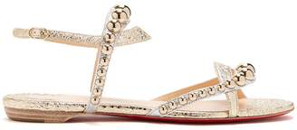 Christian Louboutin Galeria stud-embellished leather sandals