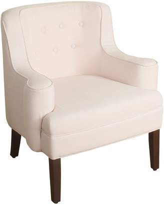 HomePop Emily Curved Arm Accent Chair