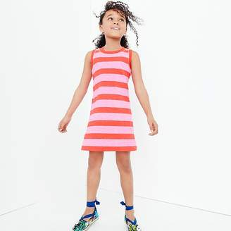 J.Crew Girls' tank dress in rugby stripes