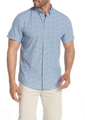 14th & Union Patterned Short Sleeve Performance Shirt