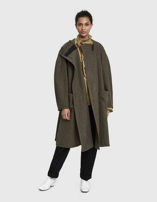 Lemaire Wrapover Wool Coat