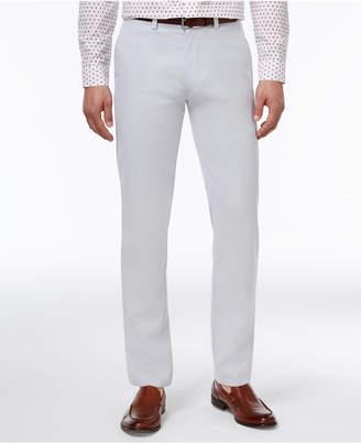 Kenneth Cole Reaction Men's Slim-Fit Fine Twill Techni-Cole Pants $85 thestylecure.com