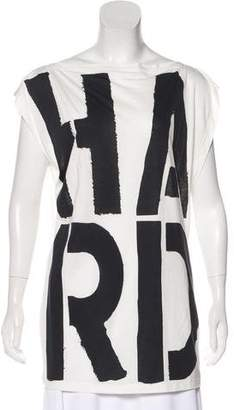 Gareth Pugh Graphic Sleeveless Top w/ Tags