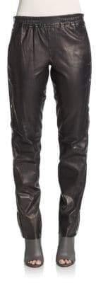 A.L.C. Public Side-Snap Leather Pants