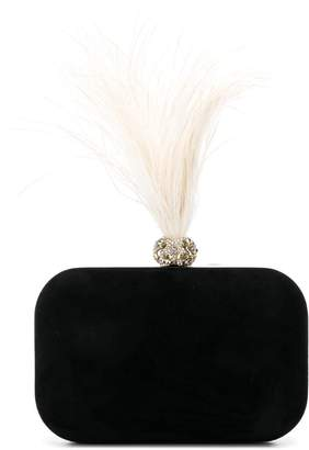 Jimmy Choo Cloud ostrich feather clutch