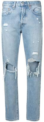 Levi's Made & Crafted classic ripped jeans
