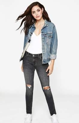Levi's 711 Bandit Black Skinny Jeans