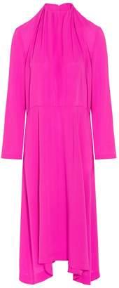Balenciaga Highneck Silk Tunic
