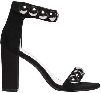 Jeffrey Campbell 90mm Studded Suede Sandals