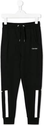 Calvin Klein Kids drawstring track trousers