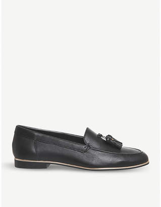 Office Retro tassel leather loafers