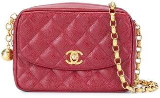 bc1845f39331 Chanel Pre-Owned quilted fringe chain shoulder bag