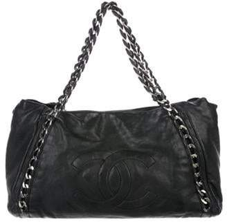 Chanel Large Modern Chain E/W Tote Black Large Modern Chain E/W Tote
