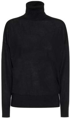 Emilia Wickstead Clover wool turtleneck sweater
