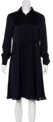 Cacharel Long Sleeve Midi Dress
