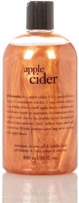 philosophy apple cider 3-in-1 shower gel - 16 oz.