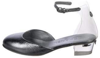 Chanel 2017 PVC Ankle Strap Pumps