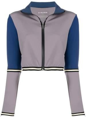 Pinko colour block zipped jacket