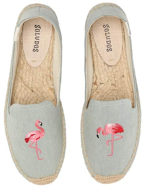 Soludos - Smoking Slipper Embroidery Women's Slippers