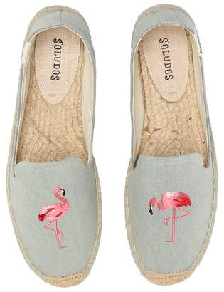 Soludos Smoking Slipper Embroidery Women's Slippers
